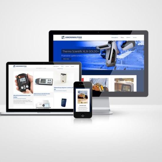 Laboranalityka - projekt strony internetowej